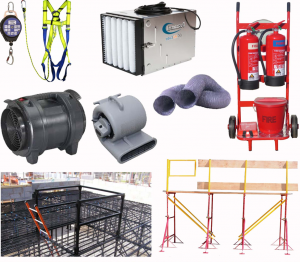 Safety Equipment & Dust Control