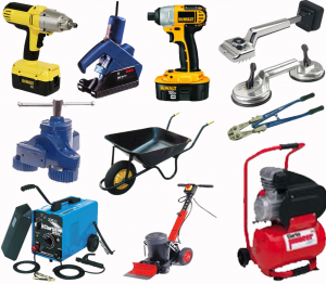 Sundry Tools & Equipment